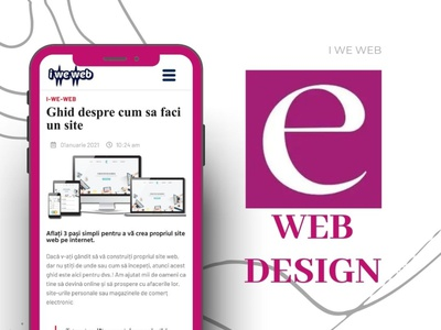 Web design by Eugen M. ux vector logo ui design illustration animation graphic design motion graphics branding