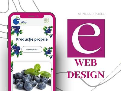 Web design by Eugen M. logo motion graphics animation illustration ux vector design ui graphic design branding