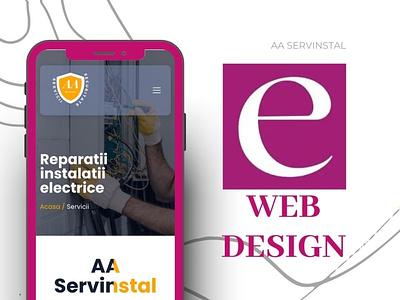 Web design by Eugen M. vector design ui illustration animation graphic design motion graphics logo branding