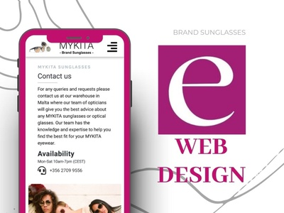 Web design by Eugen M. ux vector design ui illustration animation graphic design motion graphics logo branding