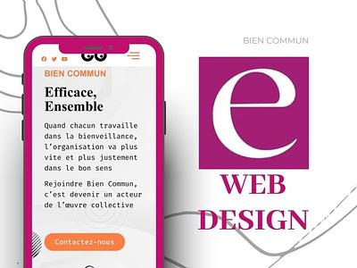 Web design by Eugen M. ux vector illustration design animation motion graphics branding logo graphic design 3d ui