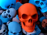 Skull Print- Details -WIP