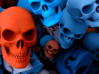 Skulls - Prints Details - WIP