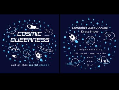 Lambda Drag Show 2017 shirt design
