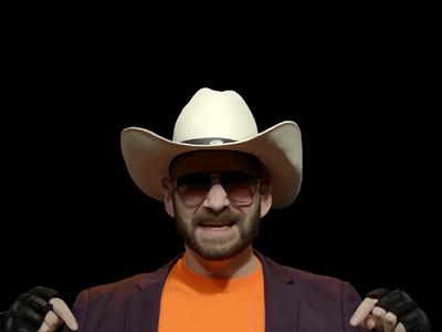 Digital Painting of Jeremy Dooley