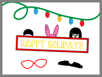 Happy Holidays from the Belcher Family!