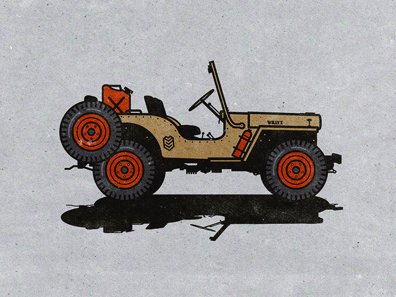 Jeepers, This Gives Me The Willys illustration willys jeep