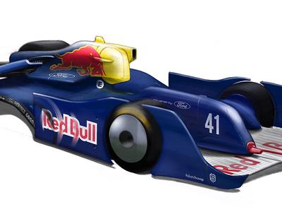 SauberC14 Redbull Concept