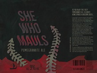 She Who Mauls - Beer Can Design Challenge