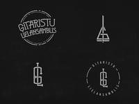 GL - guitar monogram