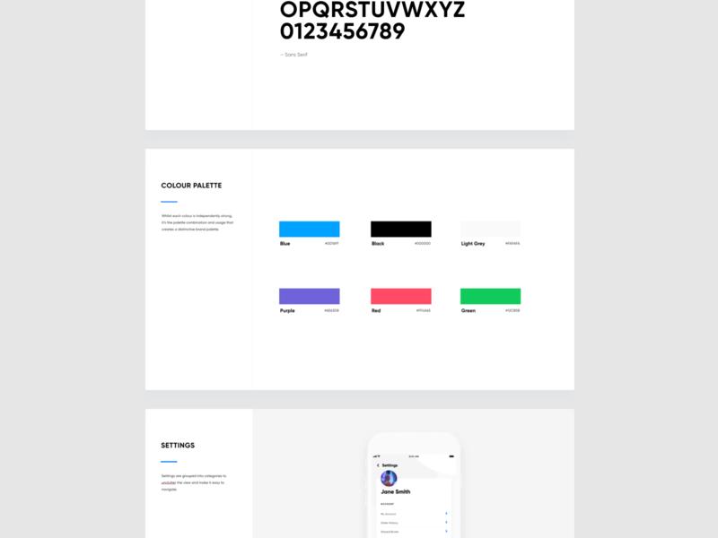 work work work appdesign app brand proposal brand design