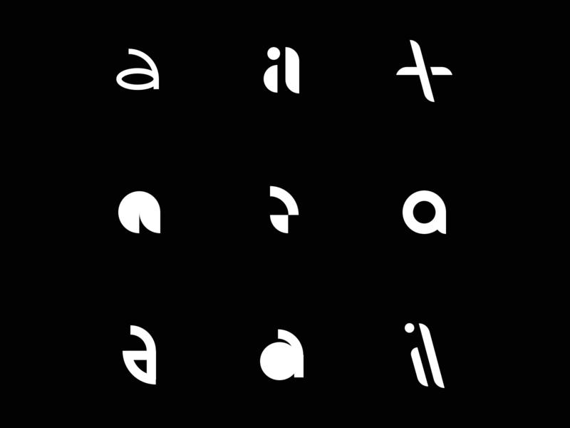 A mark exploration design branding lettering exploration brand mark logo
