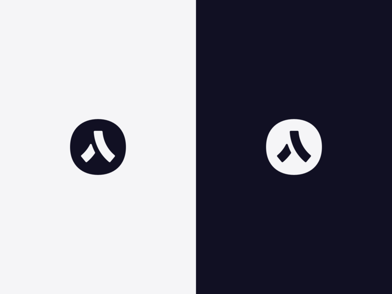 Logo Symbol brand identity branding ui app roadsign logotype mark brand logo