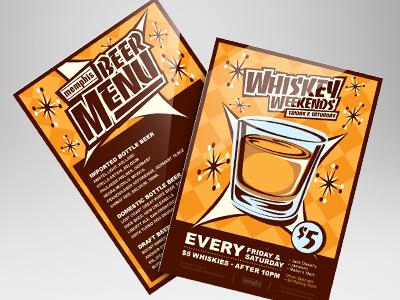 Bar Promotional Flyer