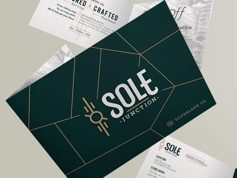 Sole Junction startups business creative identity branding design packaging