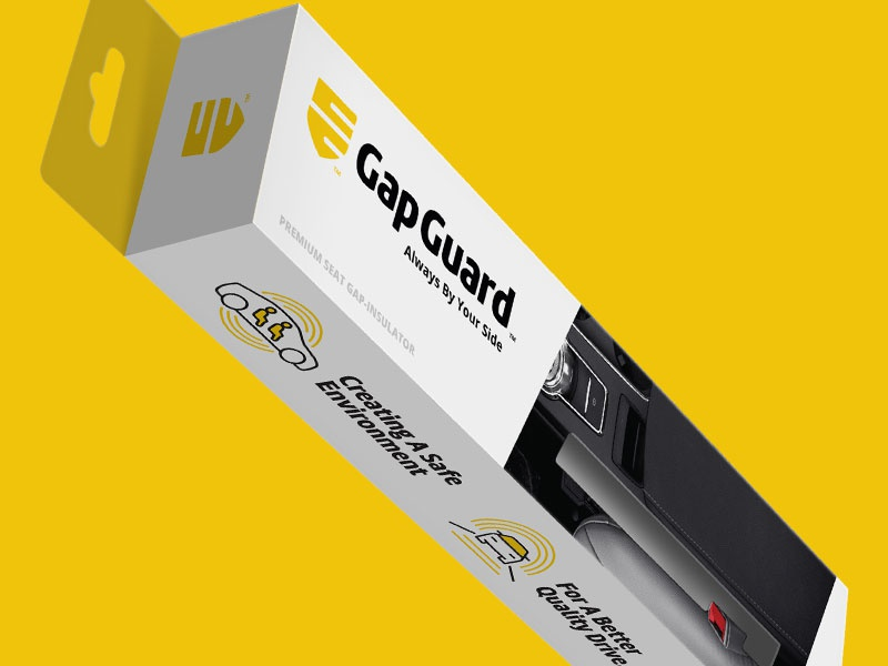 Gap Guard startups business creative identity branding design packaging