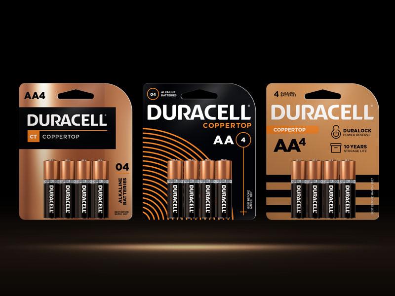 Duracell - Packaging Brand Refresh startups business creative identity branding design packaging