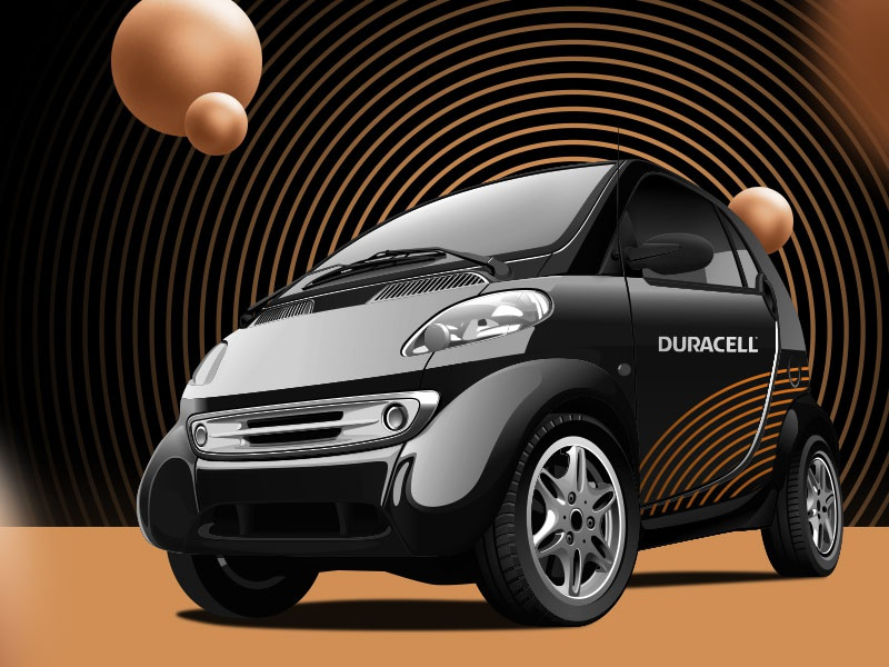 Duracell - Brand Refresh typography icon logomark business startup freelance logo design identity branding creative