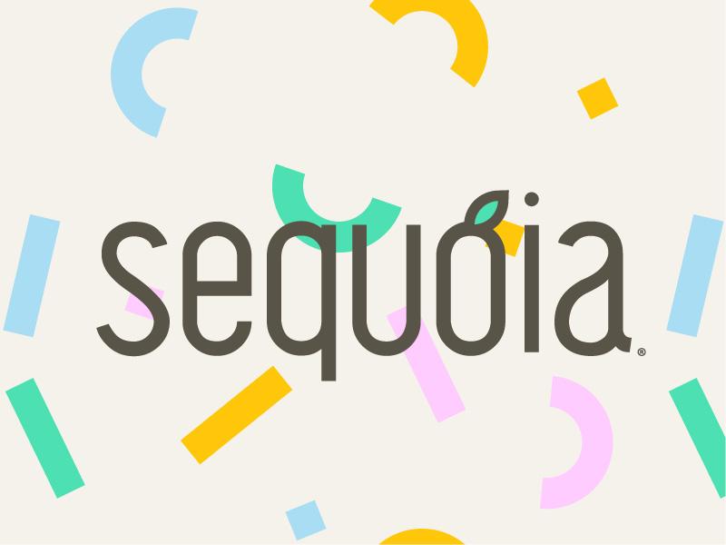 Sequoia typography icon logomark business startup freelance logo design identity branding creative