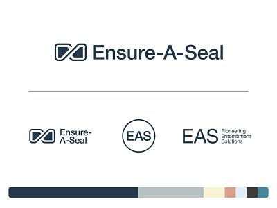 EAS brand casket utility deathcare brand identity helvetica lockup identity seal icon logo branding