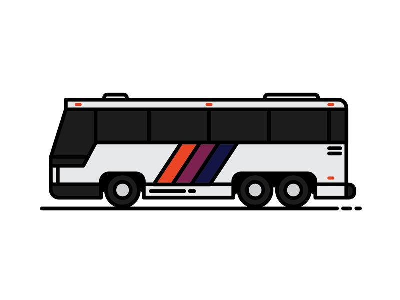 Nj Transit Bus By Logan Emser Dribbble Dribbble