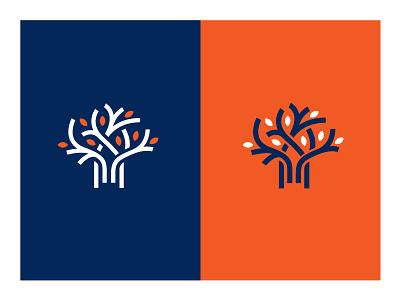Fruitless canada icon logo tree