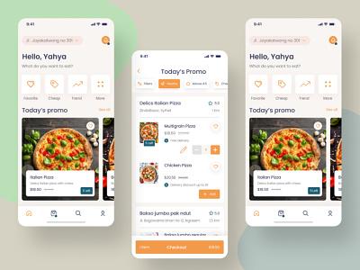 Online Pizza Delivery App Design - eBizneeds app designers australia app developers app developer android app development app designers app designer android app design