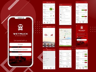 WeTruck: Transport Tracking App ios development ios app app development company in usa app design app developers australia app developer app developers app designers australia android app development app designers app designer android app design