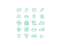 A few icons I've been working on 😤😤