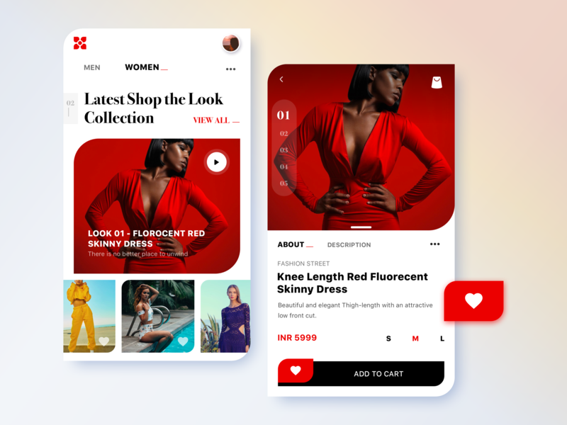 Let's make shopping fun android desgin flat type ux typogaphy icon ui dribbble designinspiration digitaldesign visualdesign webdesign shopthelook clothes bright fashionapp concept app sketchapp