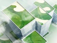 skyscrapers golf
