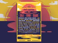 New Bedford Folk Festival | 2019 Poster