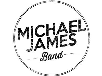 Michael James Band Logo logo distressed band logo