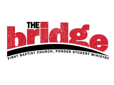 The Bridge Logo logo distressed grunge