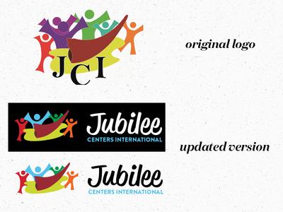 Jubilee Centers International logo design logo update clean