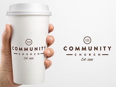 121 Community Church Promo Mug coffee cup promo logo church