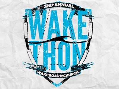 Wakeboard Church Logo logo wakeboard