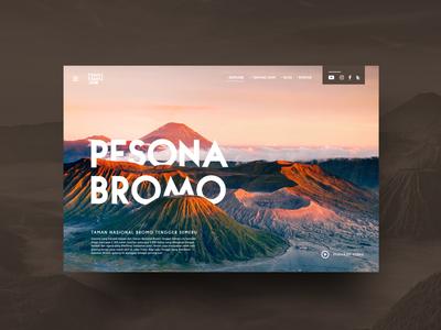 Web Design Pesona Bromo (travel-travel.com)