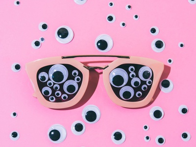 The Eyewear hipster contemporary photography photo creative pop product art concept still life