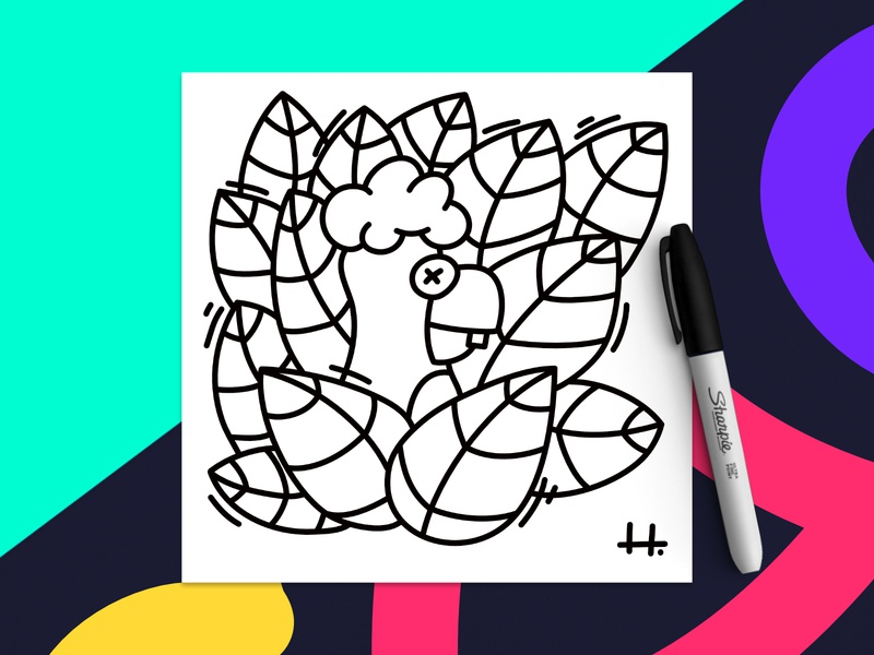 PENGUIN 🐧 design drawing doodle cute vector nature character illustration black and white animal penguin