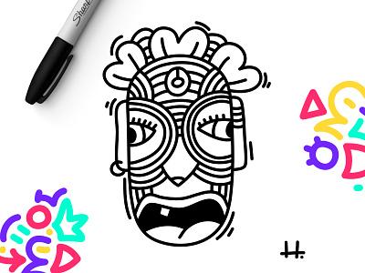 LES HUG'S meet Pablo Zago 👨🏻🦰 doodle art doodling doodleaday inspiration artist drawing doodleart sharpie illustration sketch doodle