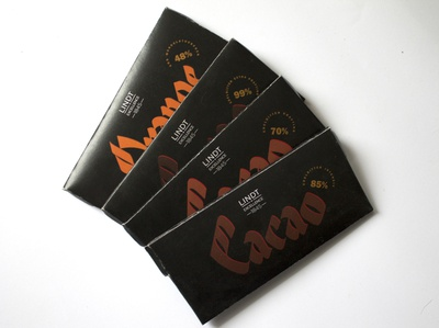 redesign of chocolate packaging