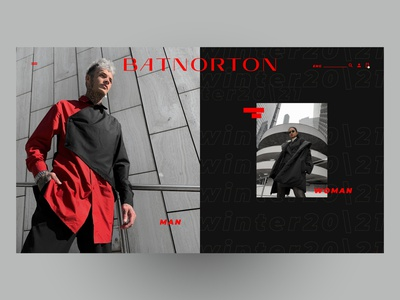 BAT NORTON mobile website branding minimal typography black fashion fashion brand web webdesign design desktop uidesign uiux ux ui