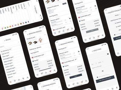 ecco redisign fashion brand web design webdesign uidesign branding uiux ecco shoes mobile design mobile app mobile app ux ui