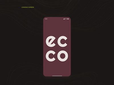 ECCO webdesign web design branding app ux uiux uidesign ui mobile