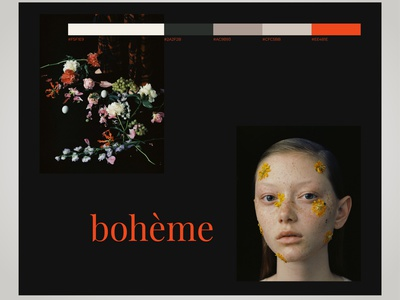 BOHO web app webdesign mobile branding ux uiux uidesign ui design