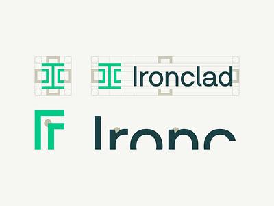Ironclad's new logo logodesign logotype branding logo