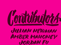 Miserable & Worthless contributors page