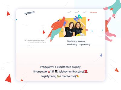 Dajemyslowo.com – Modern website with top-notch animations built jamstack website design animated webdesign