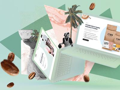 Etnocafe.pl - modern, performant website based on Jamstack 👌 🙌 ux web design website design illustration ui webdesign